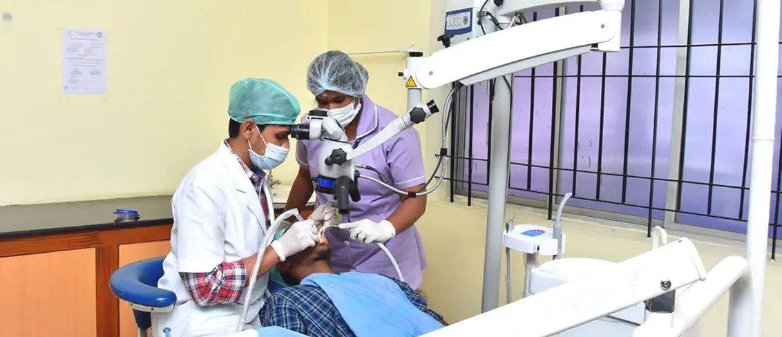 Best Dental Clinic In Coimbatore - Sri Ramakrishna Hospital
