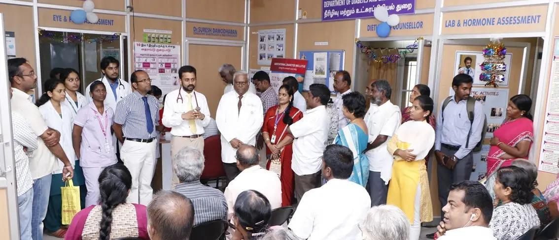 Best Endocrinologist In Coimbatore - Sri Ramakrishna Hospital