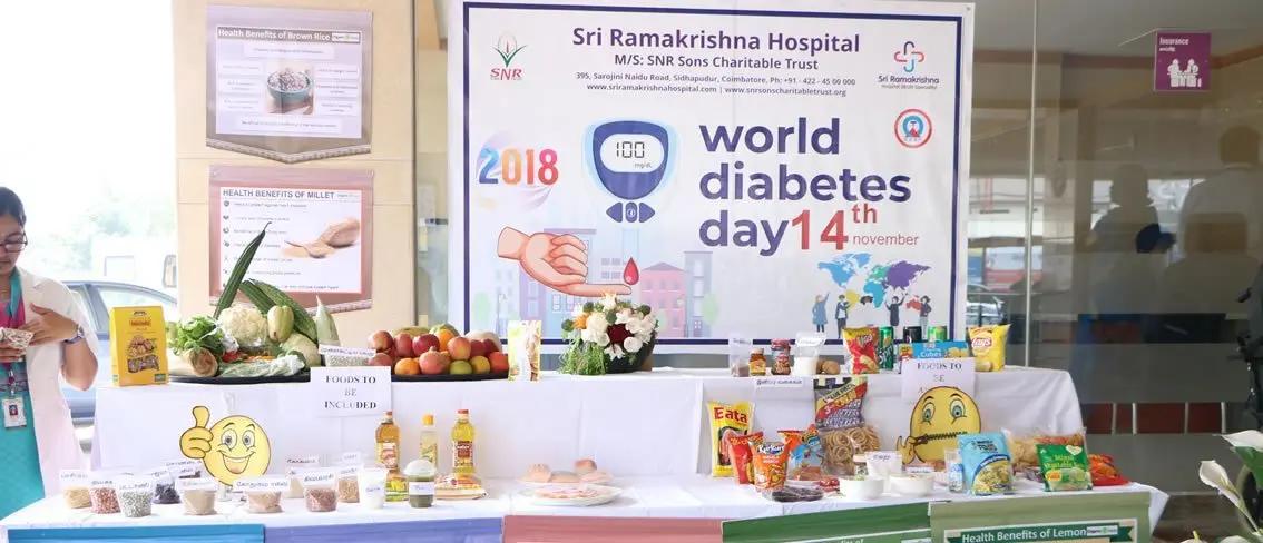 Best Diabetes Hospital In coimbatore - Sri Ramakrishna Hospital