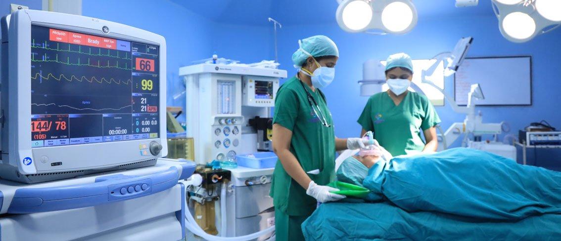 Anesthesiology Treatment - Sri Ramakrishna Hospital