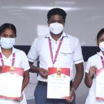 Best Nurse Award for the Month of March 2021 =- Sri Ramakrishna Hospital