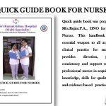 Quick Guide book for Nurse