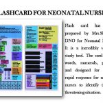 Flashcard for Neonatal Nurse