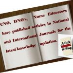 Articles for nursing students