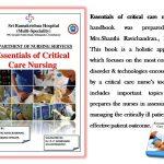 Essentials of critical care nursing - Sri Ramakrishna Hospital