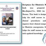 Scripture for obstetric nurses - Sri Ramakrishna Hospital